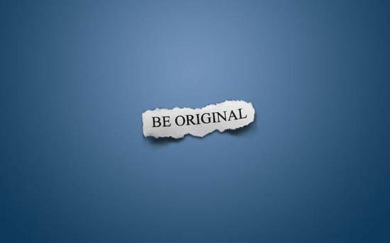 Stunning HD Wallpaper - Be Original