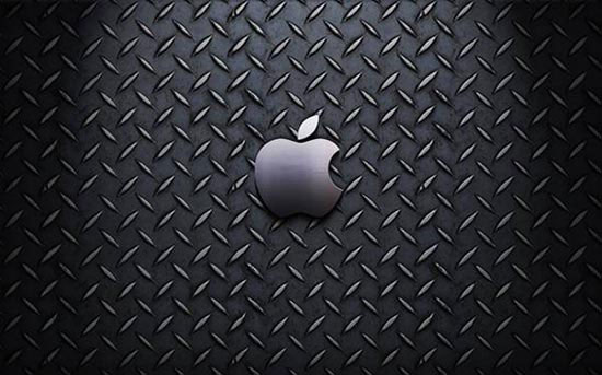 Stunning HD Wallpaper - Metal Apple