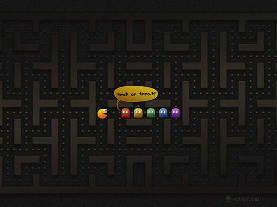 Stunning HD Wallpaper - PacMan