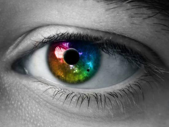 Stunning HD Wallpaper - Colorful Eye