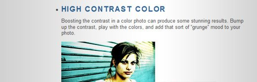 Warning: These 9 Photoshop Techniques May Result In Great Photos - screen shot.
