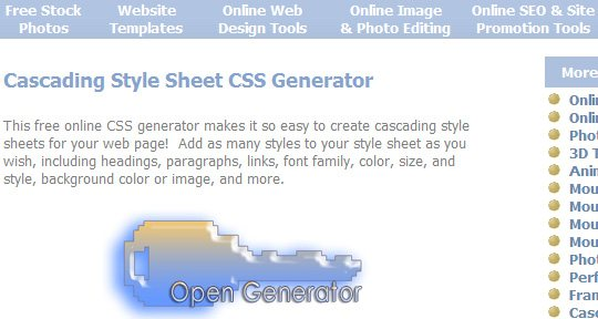 Cross browser CSS3 rule generator