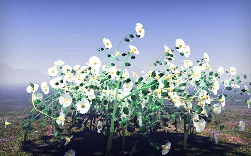 Flowers in The Ultimate Collection Of Maya 3D Tutorials