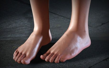 Foot in The Ultimate Collection Of Maya 3D Tutorials