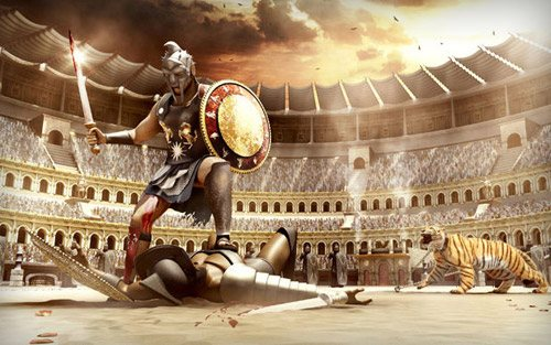 Gladiator in The Ultimate Collection Of Maya 3D Tutorials
