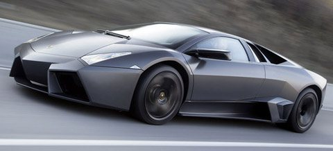 Lamborghini Reventon side view