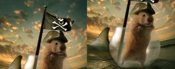 instantShift - Excellent Photoshop Tutorials For Photo Manipulation