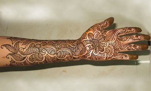 Indian Wedding on Wedding Mehndi Designs Which Is The Best Designs Arabic Countries And