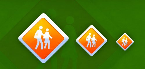 Safety Icon Design - screen shot.