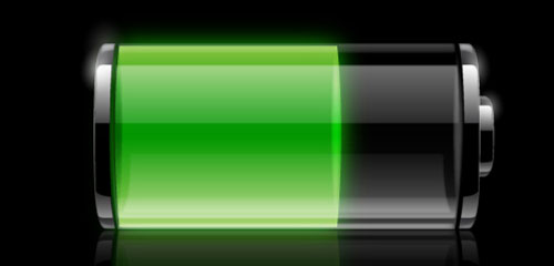 Transparent Battery Icon - screen shot.