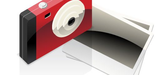 Detailed Camera with Photo Icon - screen shot