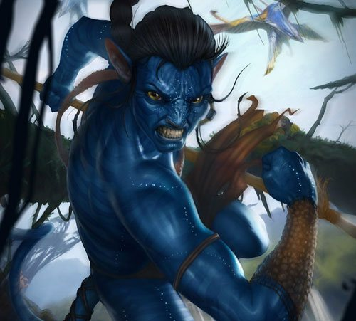 Avatar in 25 Incredible and Impressive Painting Tutorials by Designsmag