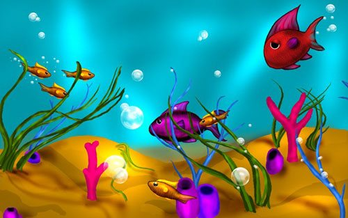 Fish in 25 Incredible and Impressive Painting Tutorials by Designsmag