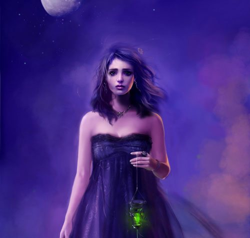 Goddess in 25 Incredible and Impressive Painting Tutorials by Designsmag