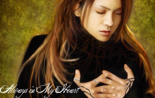 Heart in 25 Incredible and Impressive Painting Tutorials by Designsmag