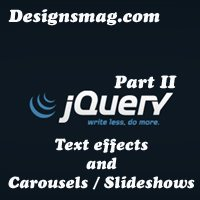 50jQuerytextslideshowffects thumb designsmag 50 Magical Effects of jQuery Part I
