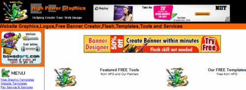 Free Website Banners Logos Buttons Free Online Banner Builder_1283687176936