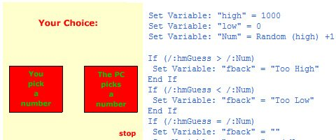Simple Guessing Game with Actionscript