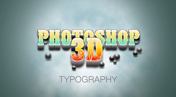 How To Create A Realistic 3D Typography In Photoshop