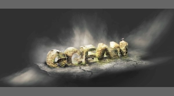 Create 3D Typography with Advanced Texturing and Lighting Effect in Photoshop