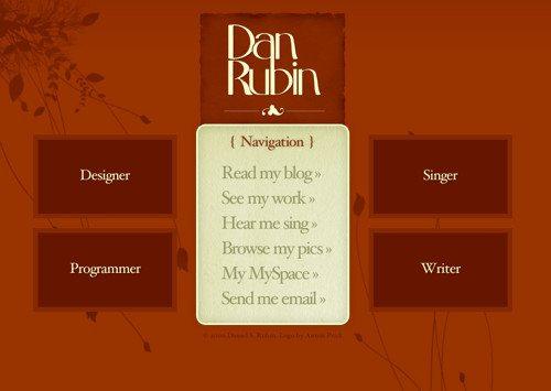 Bcw Dan Rubin in Best Practices For Effective Design Of About me-Pages