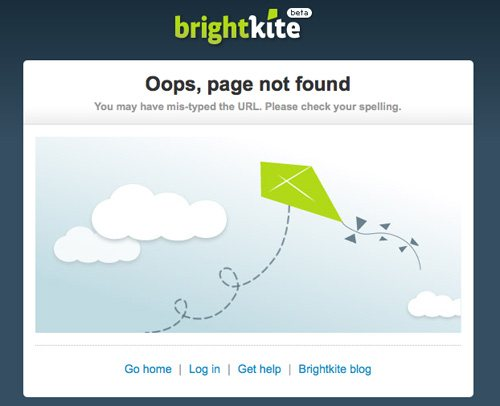 brightkite 60 Really Cool and Creative Error 404 Pages by Designsmag