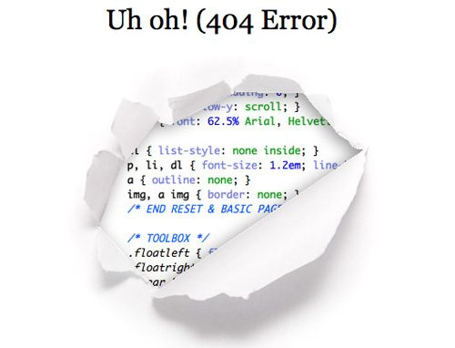 csstricks 60 Really Cool and Creative Error 404 Pages by Designsmag