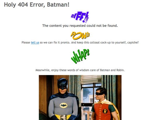 latelategifts 60 Really Cool and Creative Error 404 Pages by Designsmag