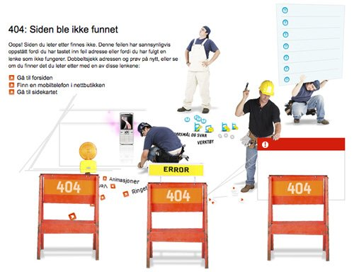 tele2 60 Really Cool and Creative Error 404 Pages by Designsmag