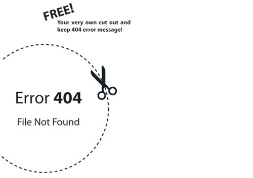 v 60 Really Cool and Creative Error 404 Pages by Designsmag