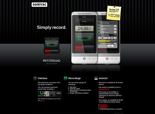 Website Designs for Android Phones