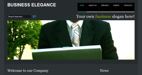 Buselegance in 100 Free High-Quality XHTML/CSS Templates