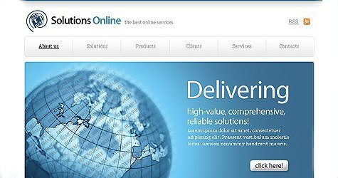 Freecss in 100 Free High-Quality XHTML/CSS Templates