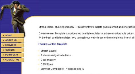 css template 2