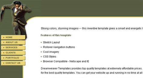 css template 3