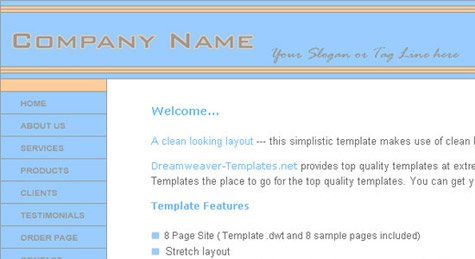 css template 5
