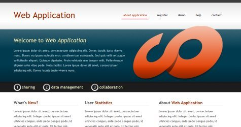 Webapp in 100 Free High-Quality XHTML/CSS Templates
