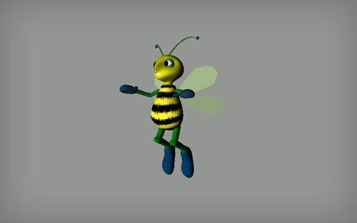 Bee in The Ultimate Collection Of Maya 3D Tutorials