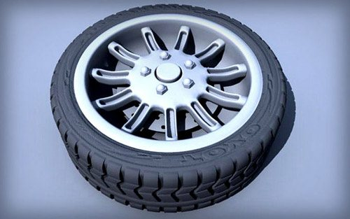 Tire in The Ultimate Collection Of Maya 3D Tutorials