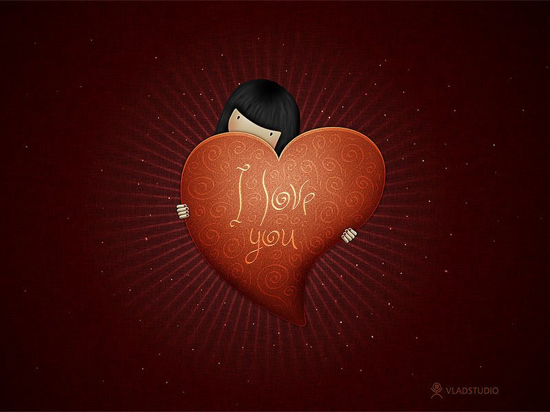 vladstudio valentine iloveyou girl 52 Free High Resolution Valentines Day Wallpapers