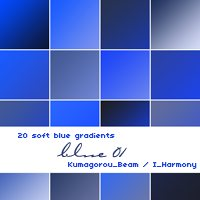 20 soft blue gradients