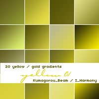 20 soft yellow gradients-photoshop