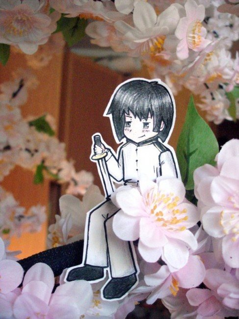 Japan paper Child 487x650 26 Amazing Examples Of Paper Art