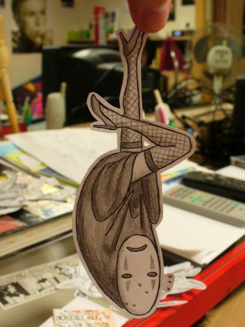 Paper No Face 487x650 26 Amazing Examples Of Paper Art