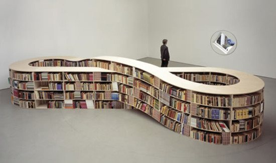 bookshelf10 46 Creative and Stylish Bookshelf Designs