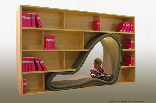 bookshelf11 46 Creative and Stylish Bookshelf Designs