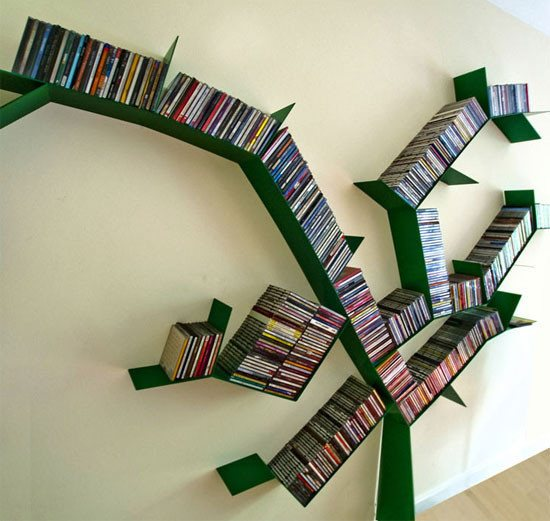 bookshelf12 46 Creative and Stylish Bookshelf Designs