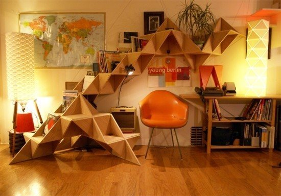 bookshelf8 46 Creative and Stylish Bookshelf Designs