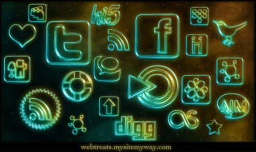 icon pack084 55 Free Social Networking PNG/ICO Icon Packs