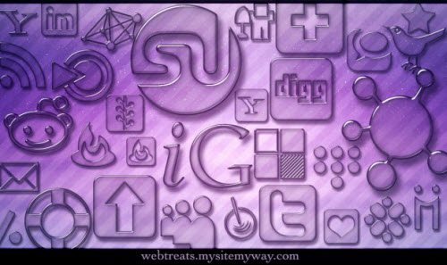 icon pack109 55 Free Social Networking PNG/ICO Icon Packs